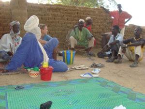 Field work, Burkina Faso
